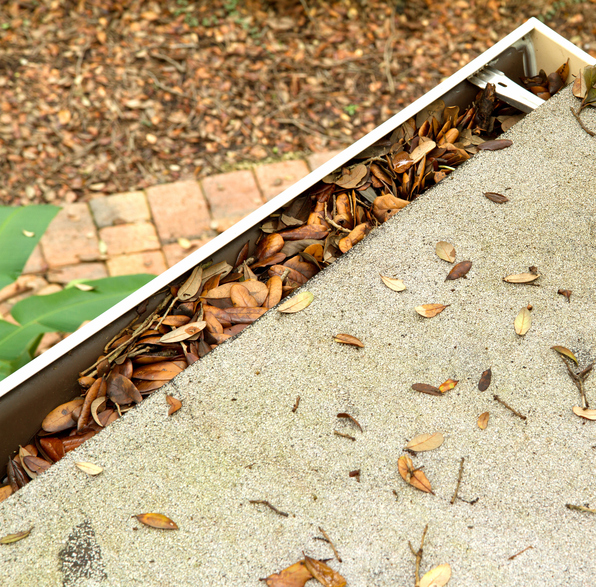 Installing a leaf gutter protection system saves you from a lot of trouble