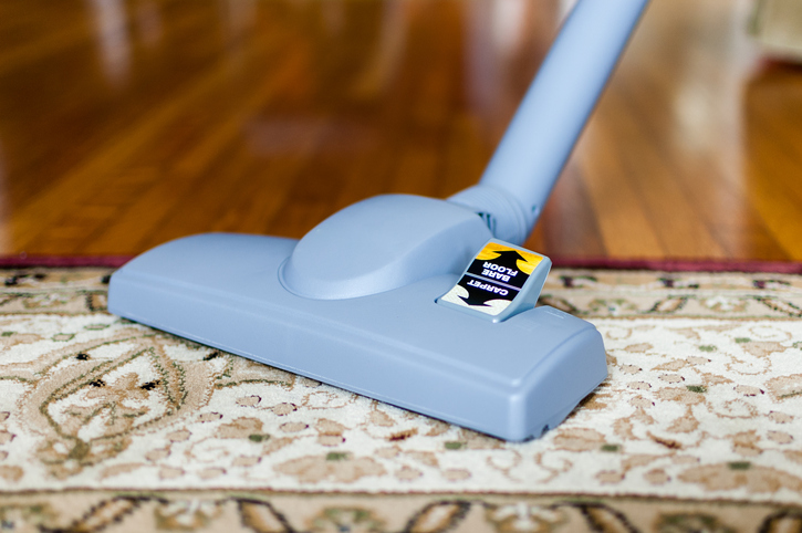 Clean your Oriental rug only when necessary but do vacuum it regularly