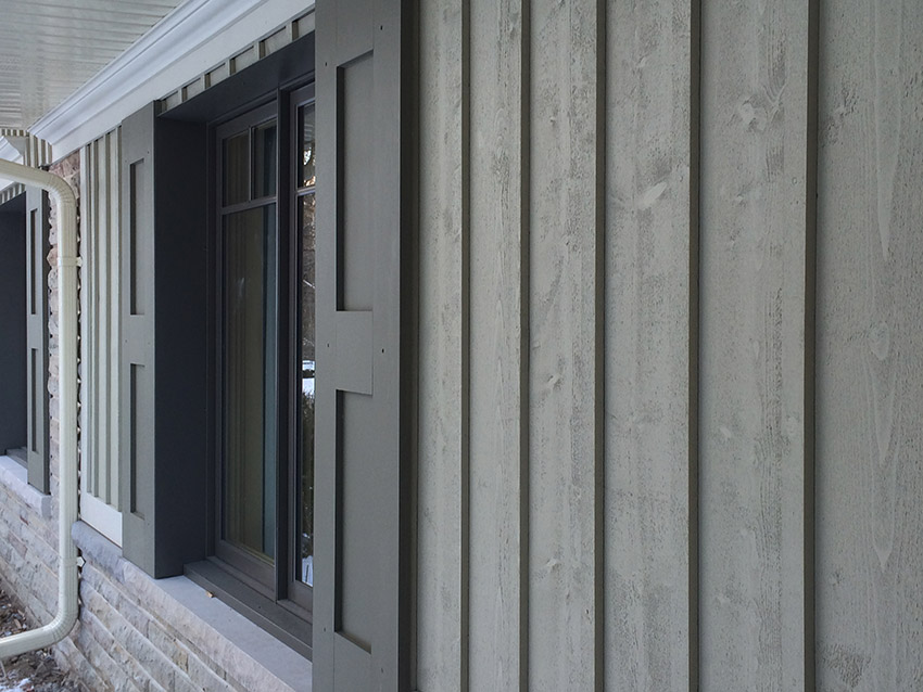 Canpos wood siding mississauga oakville brampton for Vertical siding options
