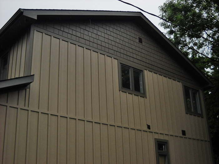 Hardie Board Vertical Siding
