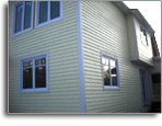 Horizontal Fraser wood siding