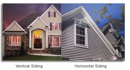 vertical and horizontal siding installation Mississauga